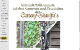 Cattery Sharifa's