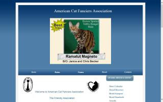 American Cat Fanciers Association - ACFA