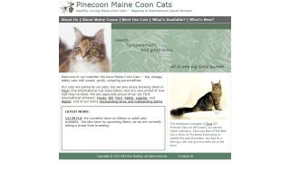 Pinecoon Maine Coons