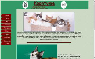 Koontyme Maine Coon Cats