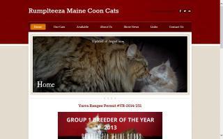 Rumplteeza Maine Coons