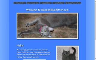 RussianBlueKitten.com