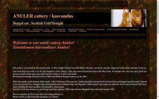 Anuler Cattery / Kasvandus